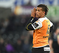 Cheetahs' Clayton Blommetjies<br /> <br /> Photographer Mike Jones/Replay Images<br /> <br /> Guinness PRO14 Round Round 16 - Ospreys v Cheetahs - Saturday 24th February 2018 - Liberty Stadium - Swansea<br /> <br /> World Copyright © Replay Images . All rights reserved. info@replayimages.co.uk - http://replayimages.co.uk