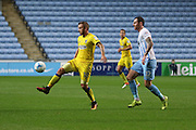 AFC Wimbledon midfielder Dean Parrett (18) controls the ball during the EFL Sky Bet League 1 match between Coventry City and AFC Wimbledon at the Ricoh Arena, Coventry, England on 28 September 2016. Photo by Stuart Butcher.