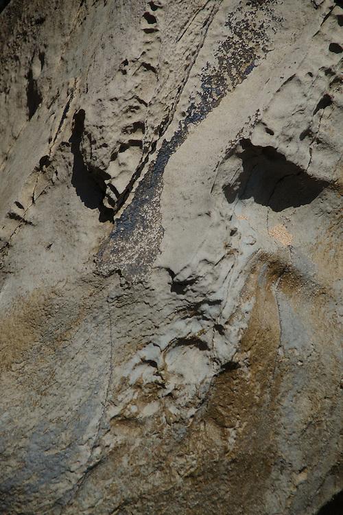 Rock Face Abstract, D.T. Fleming Beach Park, Kapalua, Maui, Hawaii, US