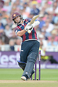 Alex Wakely during the NatWest T20 Blast semi final match between Northamptonshire County Cricket Club and Warwickshire County Cricket Club at Edgbaston, Birmingham, United Kingdom on 29 August 2015. Photo by David Vokes.