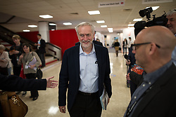 © Licensed to London News Pictures . 30/09/2015 . Brighton , UK . Labour Party Leader JEREMY CORBYN walking through the conference venue this morning ( Wednesday 30th September 2015 ) . The 2015 Labour Party Conference . Photo credit : Joel Goodman/LNP