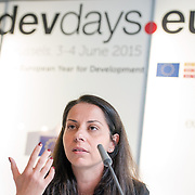 04 June 2015 - Belgium - Brussels - European Development Days - EDD - Growth - From cotton production to ethical clothing and fashion - Paola Geremicca<br /> Fundraising and Communications Director, Better Cotton Initiative © European Union