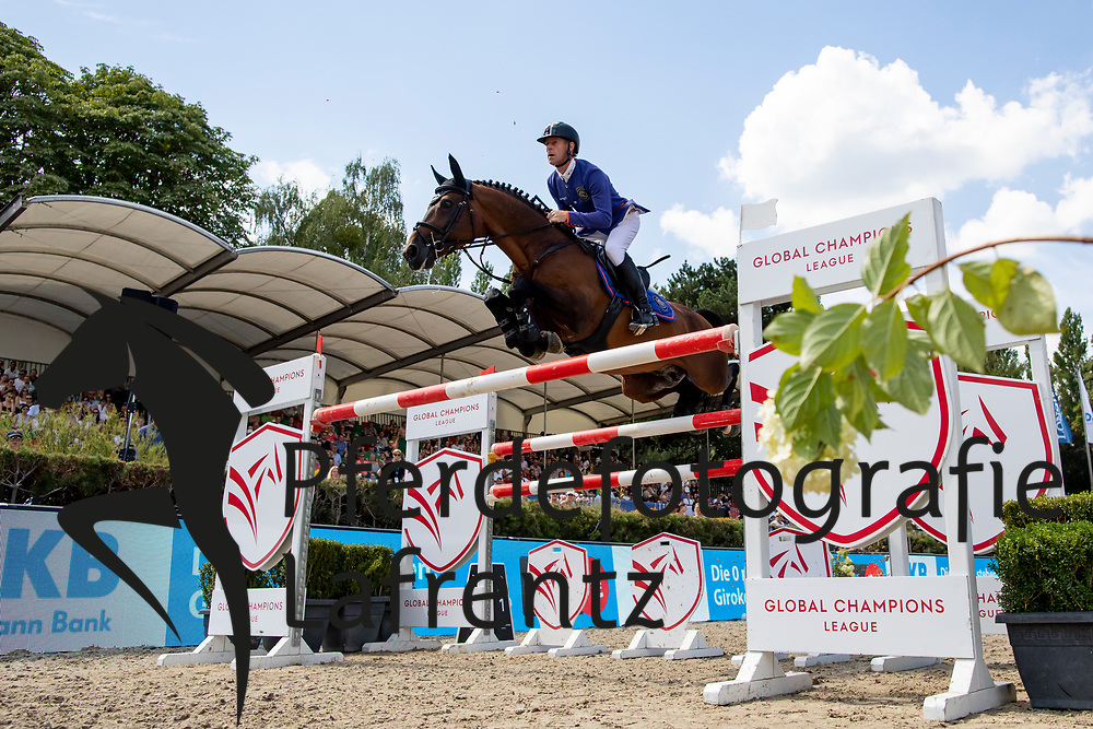 EHNING Marcus (GER), Comme il faut<br /> Berlin - Global Jumping Berlin 2018<br /> 2. Wertung für Global Champions League<br /> 28. Juli 2018<br /> © www.sportfotos-lafrentz.de/Stefan Lafrentz