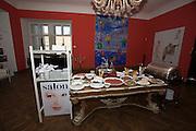 Presentation of Salon 2008 magazine at Rudolf Budja Galerie. The buffet.
