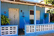 House porch in Santa Lucia, Pinar del Rio, Cuba.