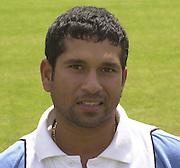 Photo Peter Spurrier.20/06/2002.Sachin Tendulka 20020620, India Test Team, Nets, Lords. [Mandatory Credit Peter Spurrier:Intersport Images]