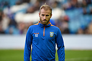 Sheffield Wednesday vice captain Barry Bannan warming up before the EFL Sky Bet Championship match between Sheffield Wednesday and Cardiff City at Hillsborough, Sheffield, England on 29 December 2019.