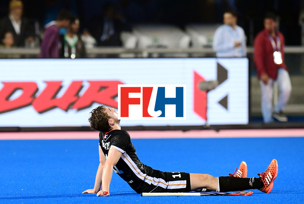 Odisha Men's Hockey World League Final Bhubaneswar 2017<br /> Match id:21<br /> India v Germany<br /> Foto: India won the Brons Medal against Germany<br /> Constantin Staib (Ger) <br /> COPYRIGHT WORLDSPORTPICS FRANK UIJLENBROEK