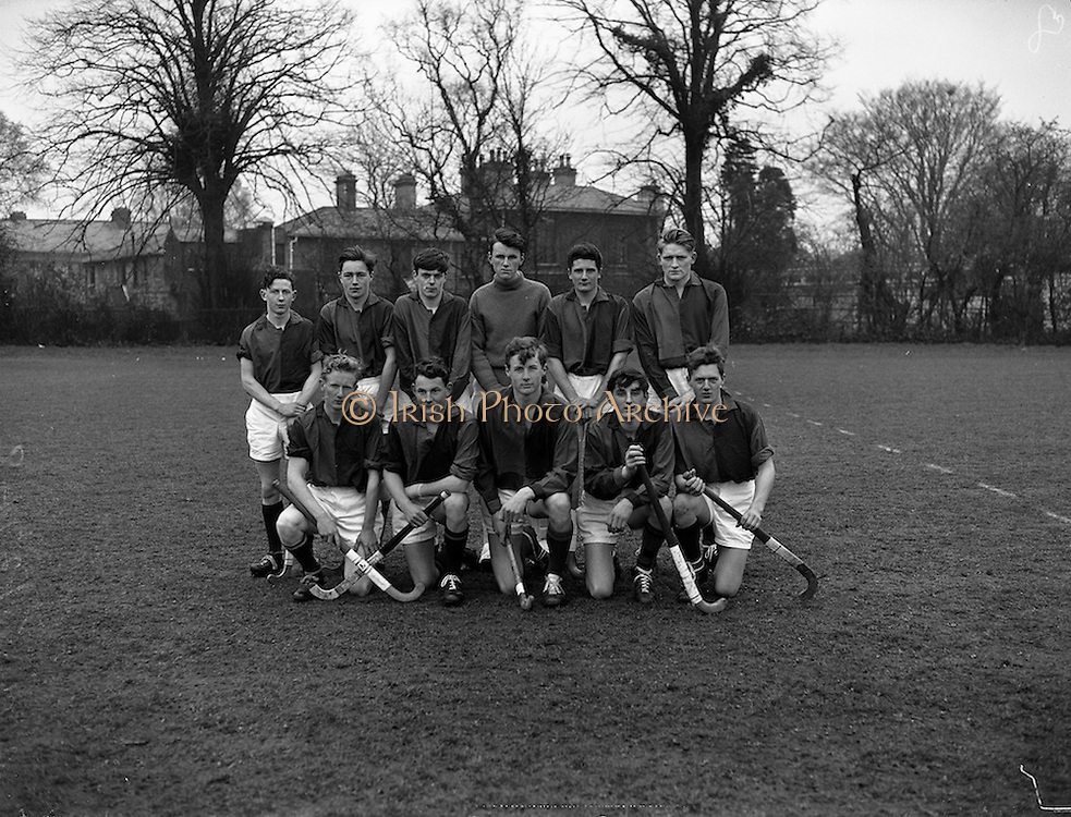 26/03/1960<br /> 03/26/1960<br /> 26 March 1960<br /> Interprovincial Hockey: Ulster v Combined Munster and South East at Claremount Road, Dublin. The Munster and South East team that was defeated by Ulster.