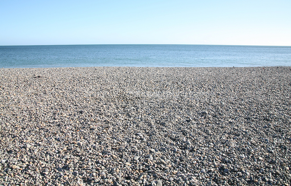 pebbley beach at Bray County Wicklow Ireland