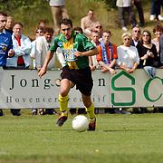 SV Huizen - AGOVV, Dennis van der Steen