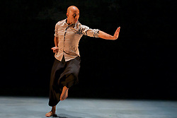 The first ever family show created by Akram Khan, one of Britain's most respected choreographers and dancers. Chotto Desh is reworked from his Olivier Award-winning autobiographical solo show DESH. It is performed by Dennis Alamanos and Nicolas Ricchini on alternate performances.Edinburgh International Conference Centre,13th August 2016 (c) Brian Anderson | Edinburgh Elite media