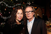 Bill Nighy and Minnie Driver, Nordoff Robbins Carol Service  2011 sponsored by Coutts. London..Wednesday, 14. Dec 2011