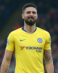 December 30, 2018 - London, England, United Kingdom - London, England - 30 December, 2018.Chelsea's Olivier Giroud.during Premier League between Crystal Palace and Chelsea at Selhurst Park stadium , London, England on 30 Dec 2018. (Credit Image: © Action Foto Sport/NurPhoto via ZUMA Press)
