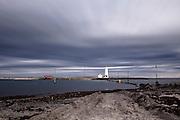 Long exposure shot at Grotta lighthouse