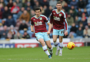 Burnley midfielder Joey Barton (13) during the Sky Bet Championship match between Burnley and Brighton and Hove Albion at Turf Moor, Burnley, England on 22 November 2015.
