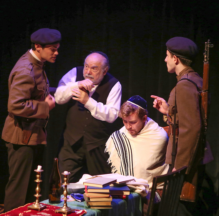 The Irish Hebrew Lesson. Produced by The New Yiddish Repertory. New York, NY 2015