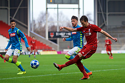 ST HELENS, ENGLAND - Monday, December 10, 2018: Liverpool's Liam Millar during the UEFA Youth League Group C match between Liverpool FC and SSC Napoli at Langtree Park. (Pic by David Rawcliffe/Propaganda)