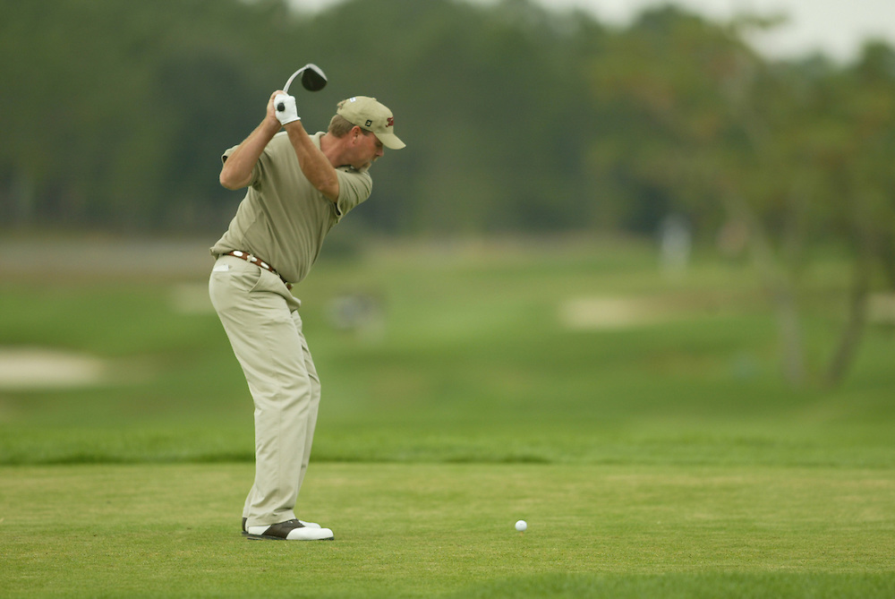 Jeff Freeman..2003 PGA Tour Qualifying, Final Stage.Third Round.Orange County National GC.Orlando, FL.Friday, December 5, 2003..Photograph by Darren Carroll