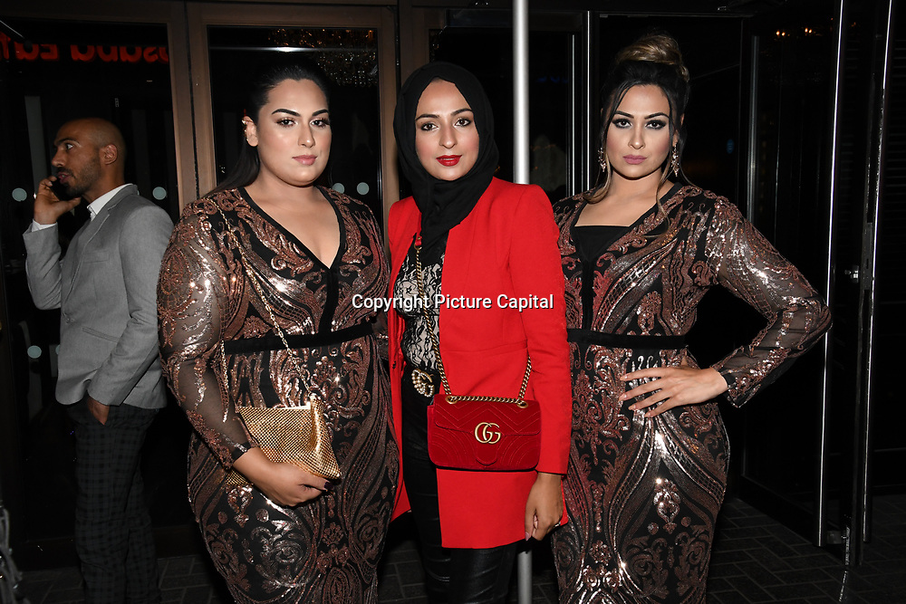 Bushra Shaikh of The Apprentice arrives at the Annual International Pakistan Prestige Awards (IPPA) at Indigo at The O2 on 9th September 2018, London, UK