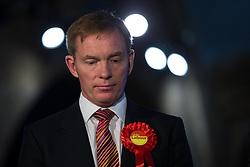 © Licensed to London News Pictures . 05/06/2014 . Newark , Nottinghamshire , UK . Chris Bryant MP . The count for the Newark by-election at Kelham Hall , Newark , this evening (Thursday 5th June 2014) . Photo credit : Joel Goodman/LNP