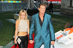 David Hasselhoff, Rush - World film premiere, Leicester Square gardens, London UK, 02 September 2013, (Photo by Richard Goldschmidt)