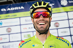 Luka Mezgec (SLO) of Orica - Scott prior to the Stage 3 of 24th Tour of Slovenia 2017 / Tour de Slovenie from Celje to Rogla (167,7 km) cycling race on June 16, 2017 in Slovenia. Photo by Vid Ponikvar / Sportida