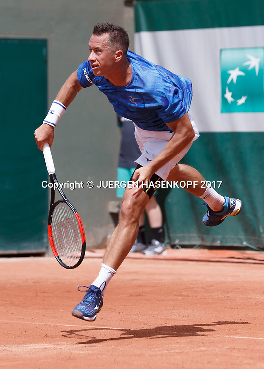 PHILIPP KOHLSCHREIBER (GER)<br /> <br /> Tennis - French Open 2017 - Grand Slam ATP / WTA -  Roland Garros - Paris -  - France  - 30 May 2017.