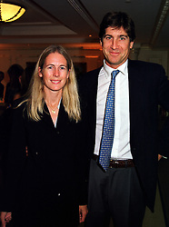 MR RUPERT & the HON.MRS SCOTT she is the daughter of Lord Montagu of Beaulieu, at a fashion show in London on 30th September 1999.MWZ 58