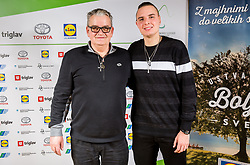 Darko and his son Marino Kegl during Slovenian Disabled Sports personality of the year 2017 event, on December 6, 2017 in Austria Trend Hotel, Ljubljana, Slovenia. Photo by Vid Ponikvar / Sportida