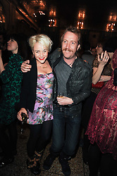 JAIME WINSTONE and RHYS IFANS at a party to celebrate the 135th anniversary of The Criterion restaurant, Piccadilly, London held on 2nd February 2010.