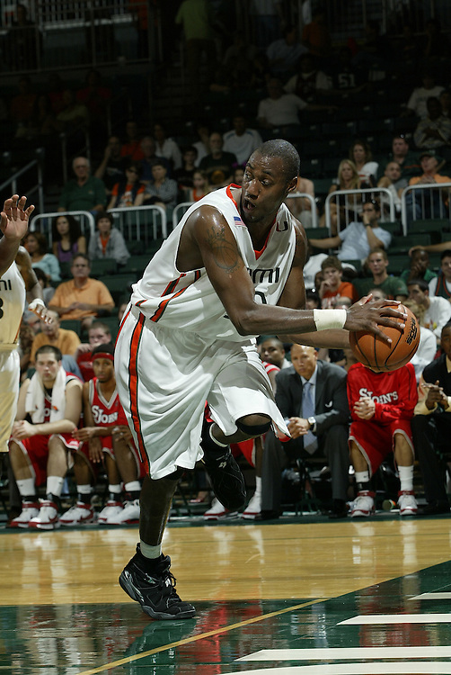 2008 University of Miami Men's Basketball vs St. Johns