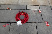 België. Sint Juliaan. Canadese Gedenkplaats 1ste Wereldoorlog. Foto: Gerrit de Heus.  Belgium. Saint Julian. Canadian War Memorial. First World War.