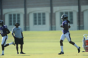 Day 8 of Ravens training camp was held on Thursday morning at the Under Armour Performance Center in Owings Mills.