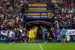 Players during football match between NK Maribor and NK Domzale in 5th Round of Prva liga Telekom Slovenije 2017/18, on August 11, 2017 in Ljudski vrt, Maribor, Slovenia. Photo by Ziga Zupan / Sportida