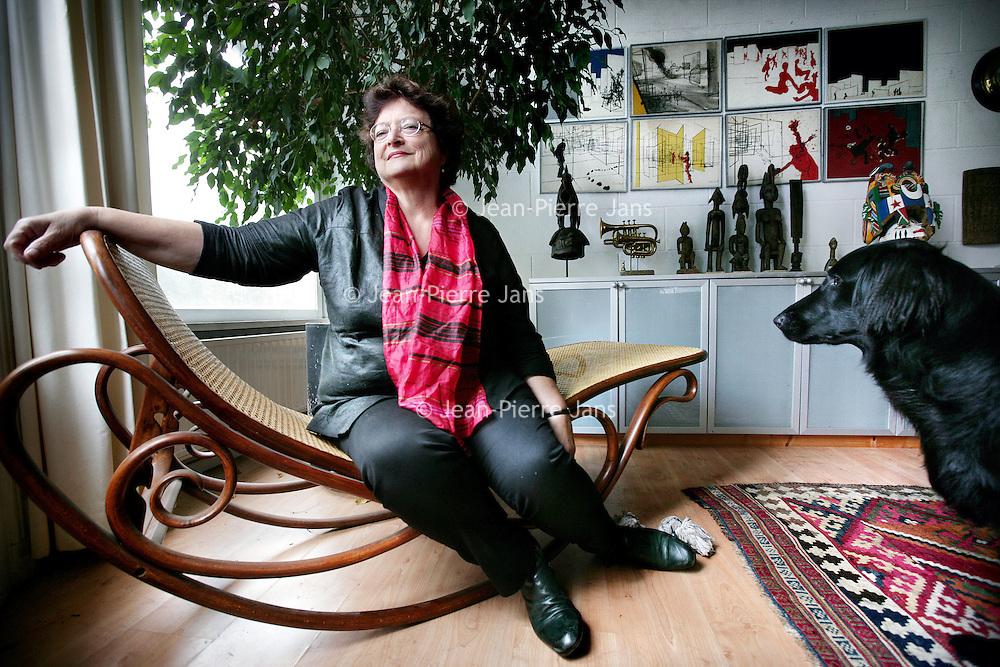 Nederland, Heemstede , 19 september 2009..Saskia Elisabeth Agatha Noorman is een Nederlands politicus. Namens de Partij van de Arbeid was ze van 1994 tot 2006 lid van de Tweede Kamer..Foto:Jean-Pierre Jans