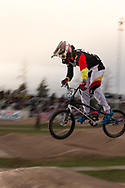 #572 (BRETHAUER Luis) GER at the 2014 UCI BMX Supercross World Cup in Santiago Del Estero, Argentina.