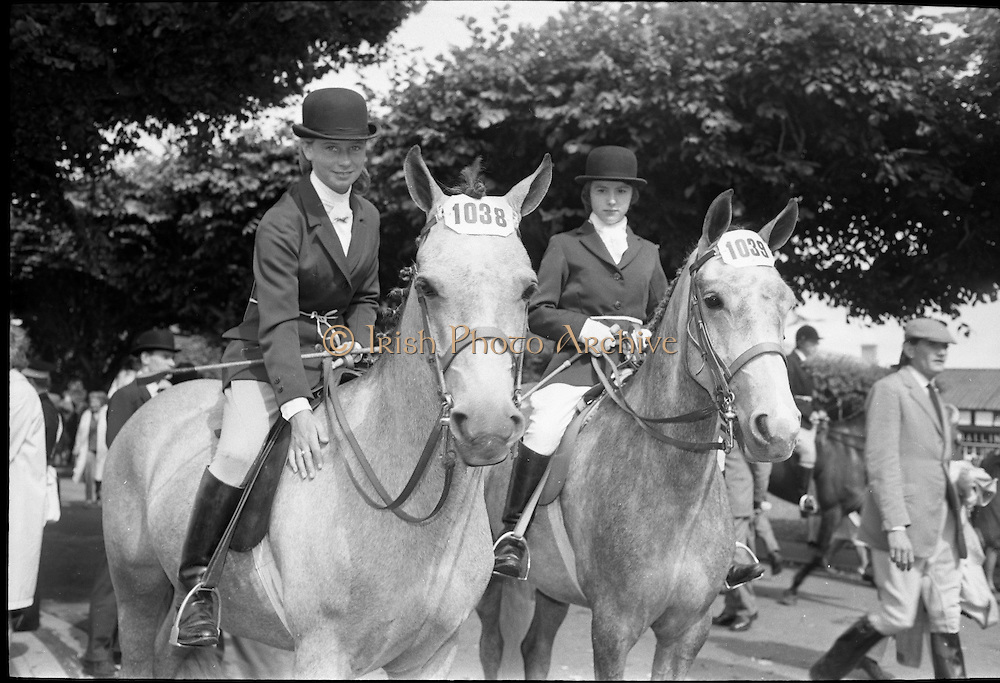 RDS Horse Show..08.08.1963