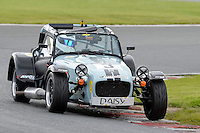 #3 Sarah Porter Caterham Roadsport during the Avon Tyres Caterham Roadsport Championship at Oulton Park, Little Budworth, Cheshire, United Kingdom. August 13 2016. World Copyright Peter Taylor/PSP.