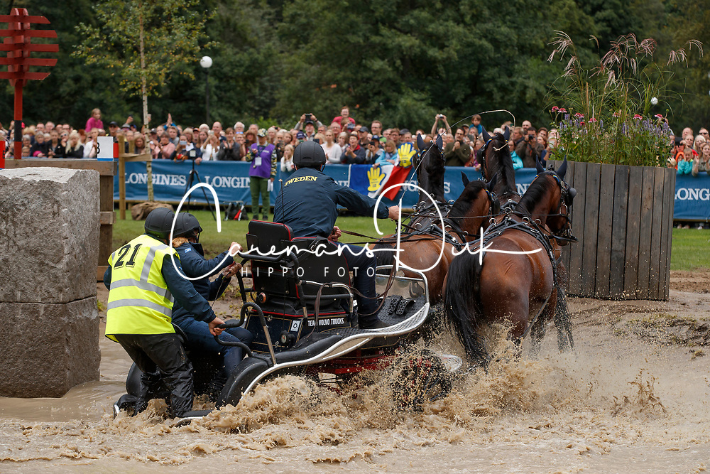 Persson Fredrik, SWE, Bartes, Corfy, Don Catcher, Samba Girl, Twister<br /> FEI European Driving Championships - Goteborg 2017 <br /> &copy; Hippo Foto - Dirk Caremans<br /> 26/08/2017,