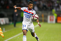 FOOTBALL - FRENCH CHAMPIONSHIP 2011/2012 - L1 - OLYMPIQUE LYONNAIS v OLYMPIQUE MARSEILLE - 18/09/2011 - PHOTO PHILIPPE LAURENSON / DPPI - MICHEL BASTOS (OL)