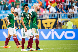 July 2, 2018 - Samara, Russia - 180702 Jesus Gallardo of Mexico looks dejected after the FIFA World Cup round of 16 match between Brazil and Mexico on July 2, 2018 in Samara..Photo: Petter Arvidson / BILDBYRÃ…N / kod PA / 92081 (Credit Image: © Petter Arvidson/Bildbyran via ZUMA Press)