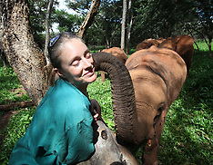 Feature - The Essex girl who saves elephant orphans