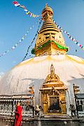 Kathmandu Nepal, Monkey's Temple or Swayambhunath