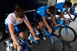 Alicia Gonzalez (ESP) warms up for Boels Ladies Tour 2019 - Prologue, a 3.8 km individual time trial at Tom Dumoulin Bike Park, Sittard - Geleen, Netherlands on September 3, 2019. Photo by Sean Robinson/velofocus.com