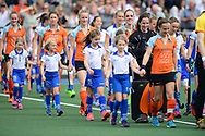 UTRECHT  Hoofdklasse dames<br /> Kampong v Groningen<br /> foto: <br /> WORLDSPORTPICS COPYRIGHT FRANK UIJLENBROEK