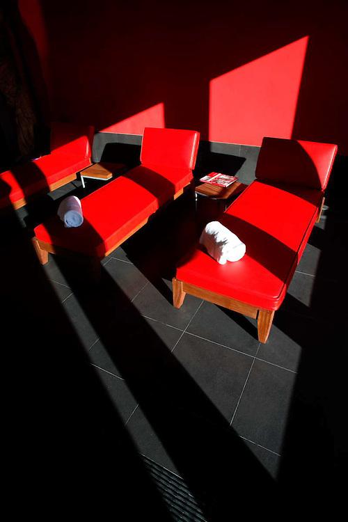 WINE SPA. HOTEL DE FRANK O. GEHRY EN LAS INSTALACIONES DE LAS BODEGAS DE LOS HEREDEROS DE MARQUÉS DE RISCAL. ELCIEGO. PROVINCIA DE ÁLABA.