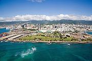Sand Island, Oahu, Hawaii<br />