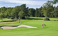 ENSCHEDE - Golfbaan- Het Rijk van SYBROOK, hole  Oost 8   .COPYRIGHT KOEN SUYK