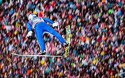 01.01.2018, Olympiaschanze, Garmisch Partenkirchen, GER, FIS Weltcup Ski Sprung, Vierschanzentournee, Garmisch Partenkirchen, Wertungsdurchgang, im Bild Gregor Schlierenzauer (AUT) // Gregor Schlierenzauer of Austria during the Competition Jump for the Four Hills Tournament of FIS Ski Jumping World Cup at the Olympiaschanze in Garmisch Partenkirchen, Germany on 2018/01/01. EXPA Pictures © 2018, PhotoCredit: EXPA/ JFK